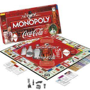 Monopoly Coca-Cola125th Anniversary Edition 2010